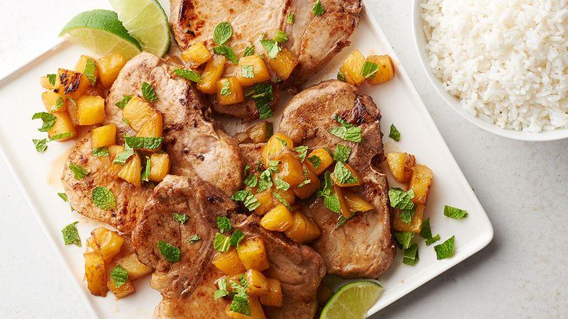 Mojito Pork Chops