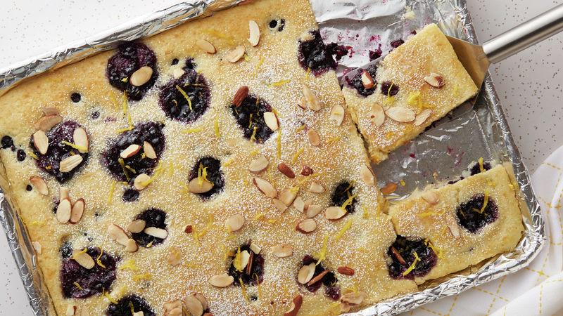 Lemon-Blueberry Sheet-Pan Pancake