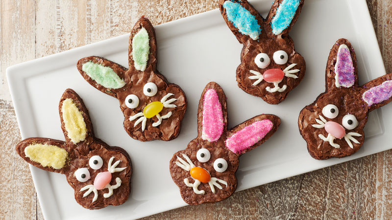 Make-Your-Own Bunny Brownies
