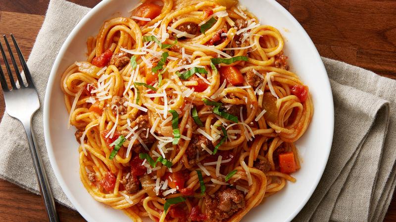 Instant Pot™ Spaghetti Bolognese