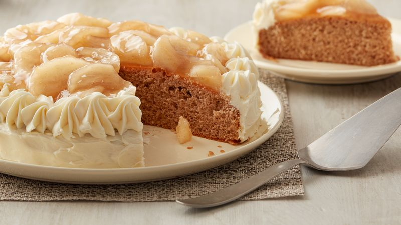 Easy Apple and Spice Cakes