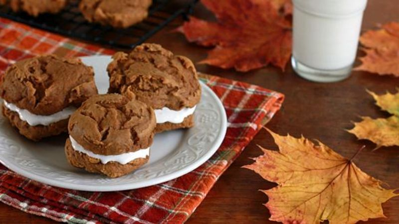 3 Ingredient Sweet Potato Whoopie Pies