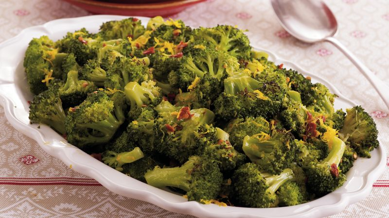 Broccoli with Orange-Chipotle Butter