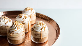 No-Bake Peanut Butter Cheesecakes