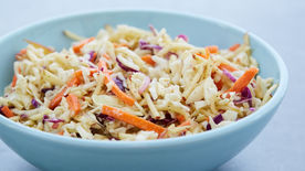 Honey-Dijon Apple Slaw