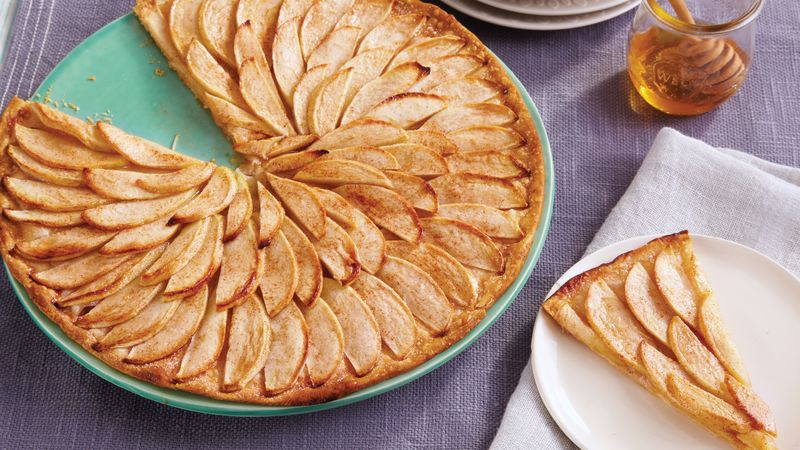 Thin French Apple Tart Recipe Pillsbury Com