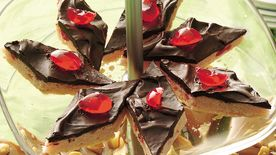 Chocolate-Covered Cherry Diamonds