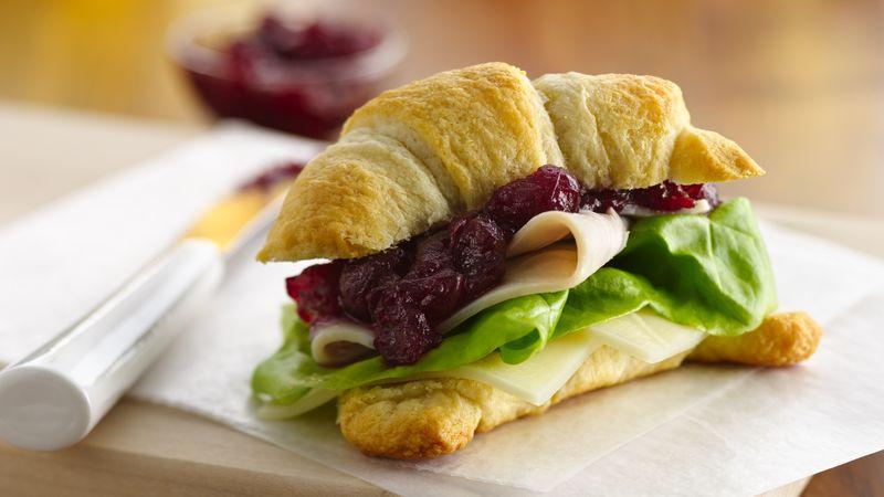 Cranberry-Turkey Sandwiches (Party Size)