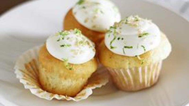 Mini Gin and Tonic Cupcakes
