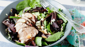 Grilled Pork Tenderloin and Dried Cherry Salad