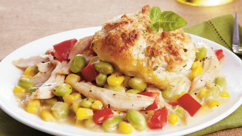 Chicken Succotash Pot Pie