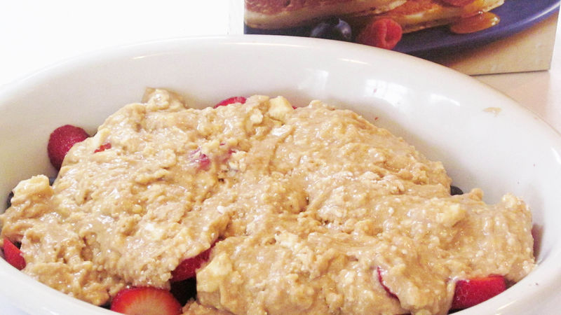 Any-Berry Cobbler