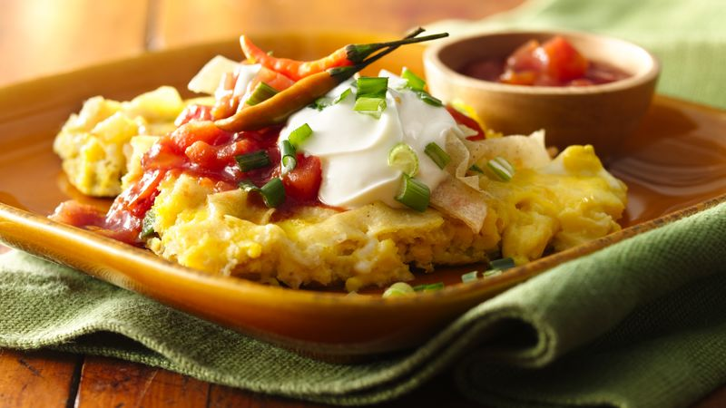 Tex-Mex Scrambled Eggs