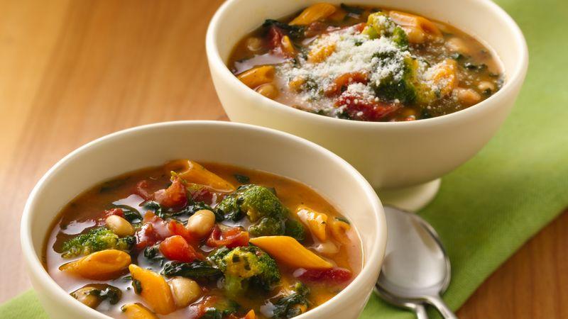 Easy Italian Vegetable Soup Recipe BettyCrockercom - Italian vegetable soup
