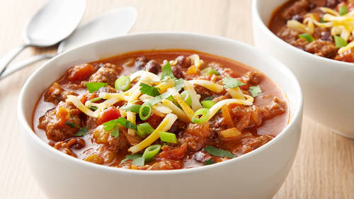 Instant PotTM Beef And Black Bean Chili