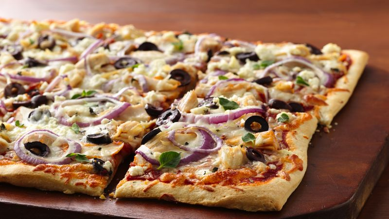 Greek Chicken Pizza