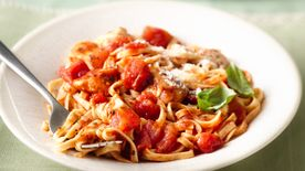 Tomato-Basil Linguine with Chicken