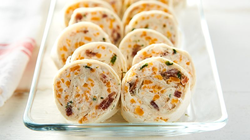 Bacon-Cheddar-Ranch Pinwheels