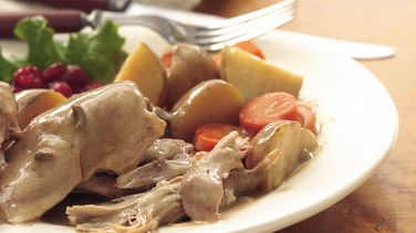 Slow Cooked Turkey Dinner