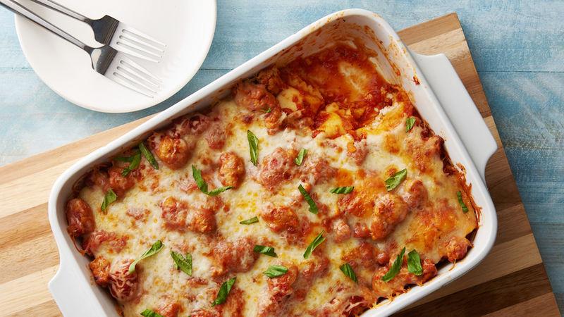 Italian Sausage and Ravioli Casserole