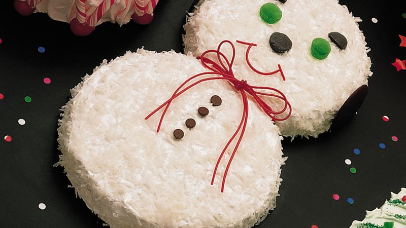 Snowman Cake Recipe Bettycrocker