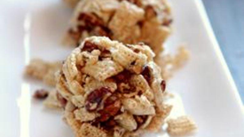 200-Calorie Treat: Crunchy Munchy Balls