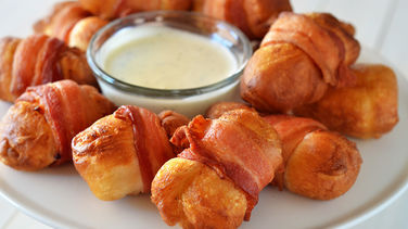Chicken-Bacon Ranch Bombs
