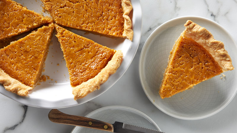 Roasted Sweet Potato Pie Recipe Bettycrocker Com