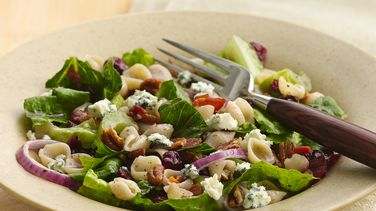 Cranberry, Bacon and Blue Cheese Pasta Salad