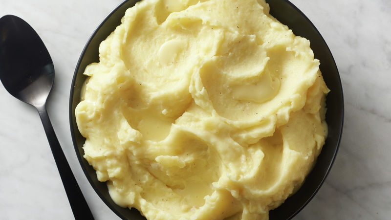 Creamy Brie Mashed Potatoes