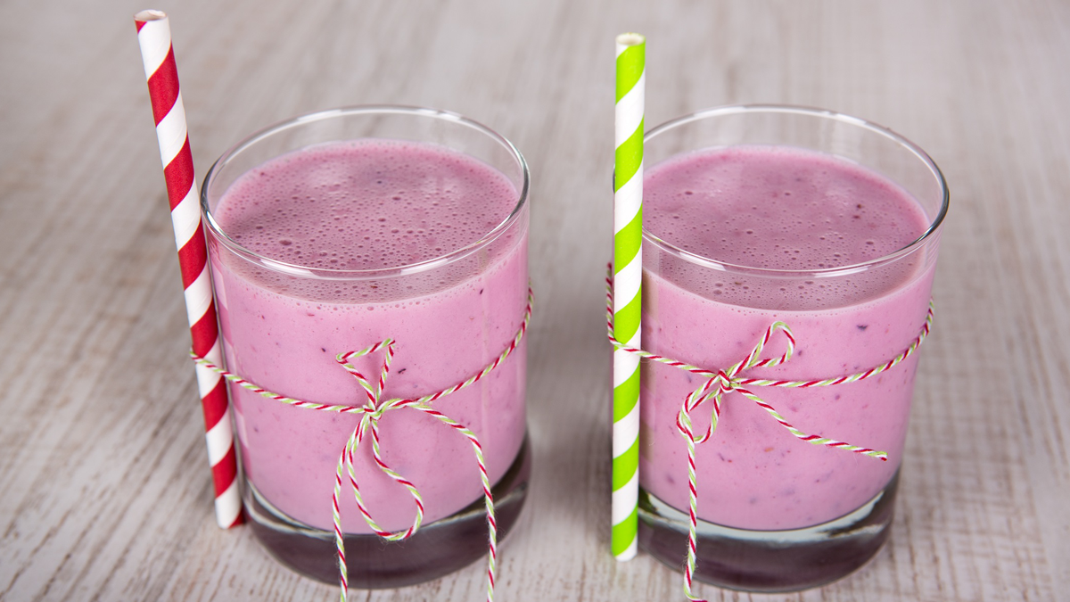 Blueberry Apple YOP Smoothie