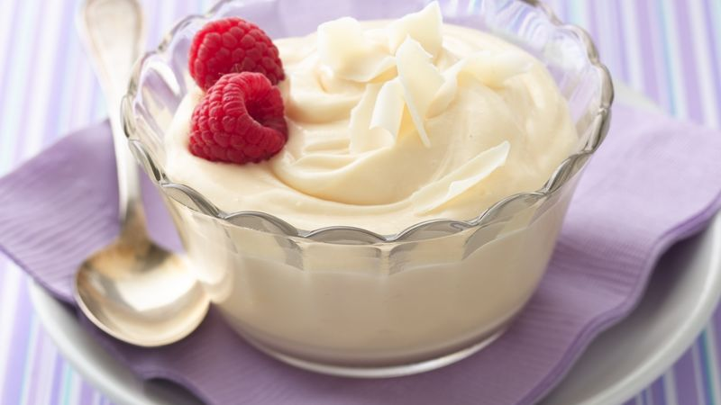 10 Minute White Chocolate Mousse
