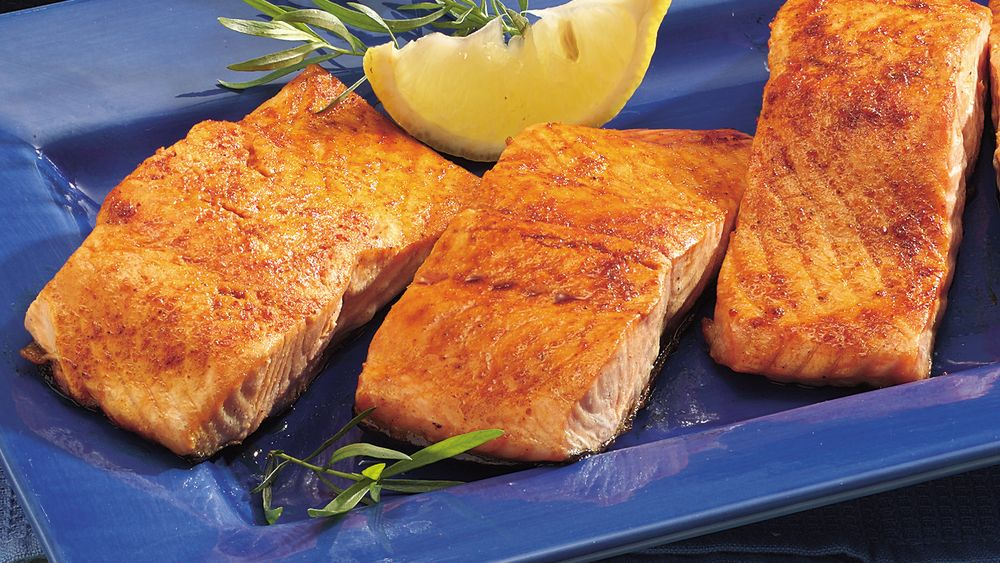 Chili-Lime Grilled Salmon
