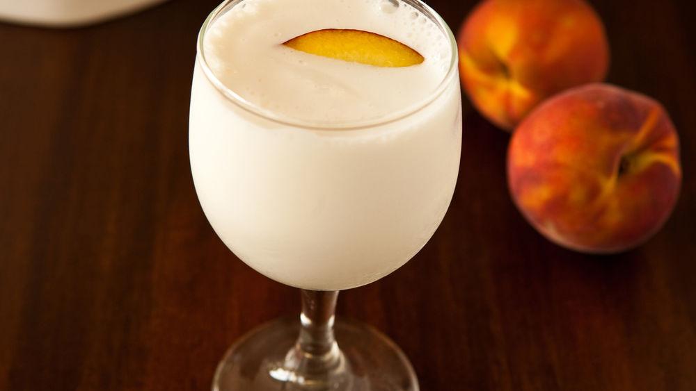 Peach Cream Shake