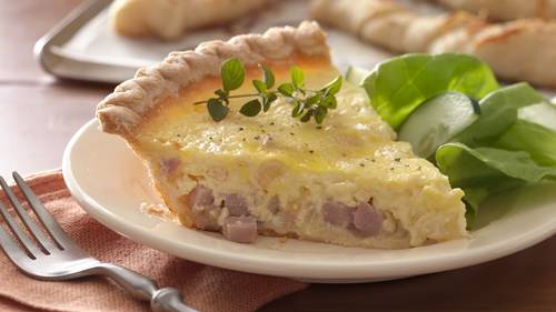 French dinner recipes bettycrocker ham and sweet onion quiche forumfinder Choice Image