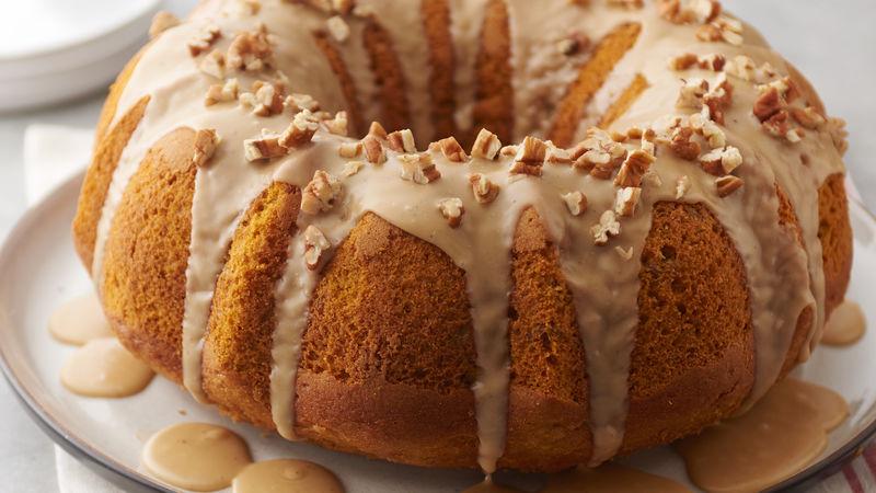 Pumpkin-Pecan Bundt Cake