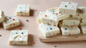 Rainbow Chip Fudge