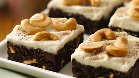 Chocolate-Cashew Brownies