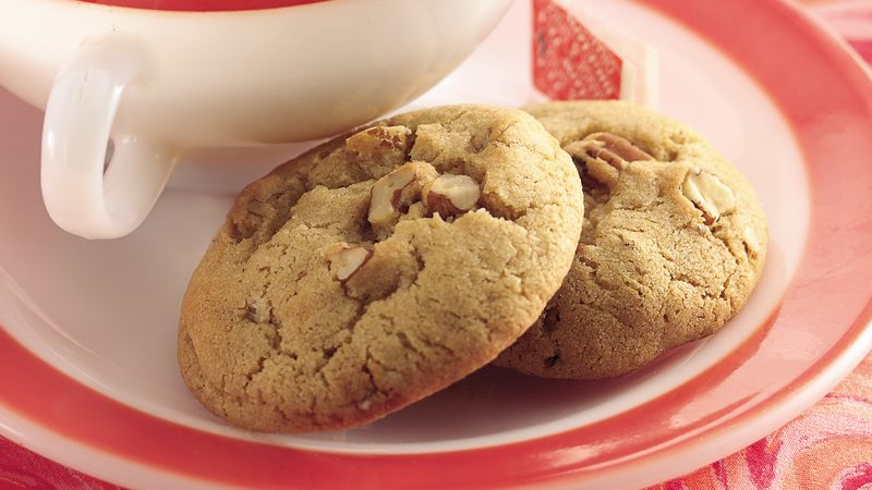 Nutty Brown Sugar Cookies Recipe Bettycrocker Com