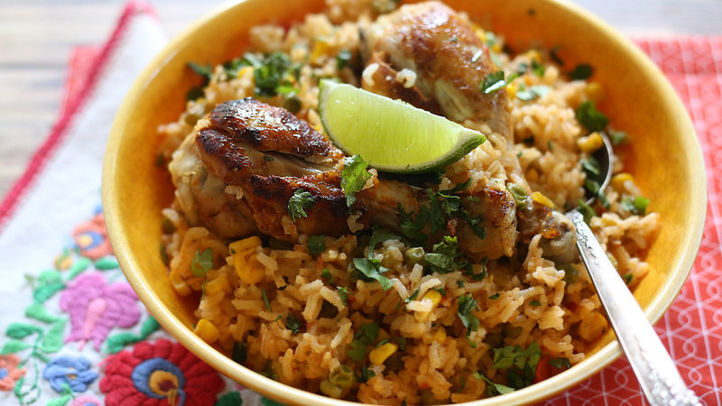recipe: mexican chicken and rice recipes easy [27]