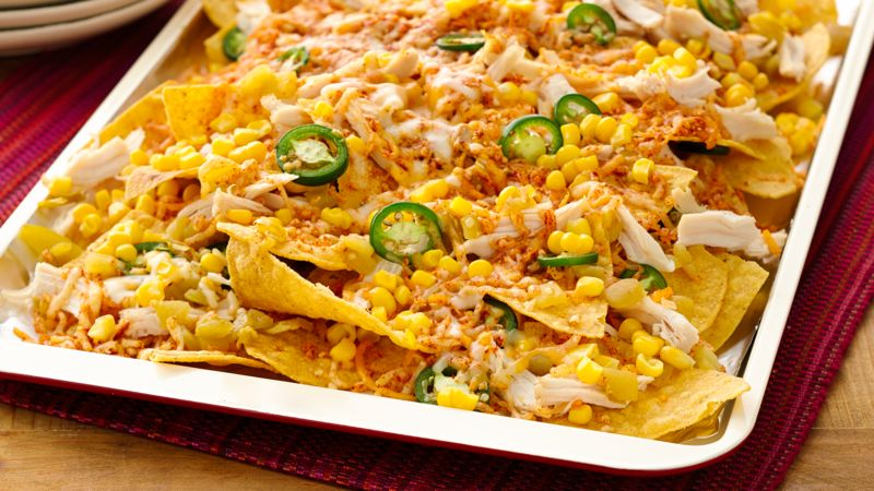 Easy 10-Minute Chicken Nachos