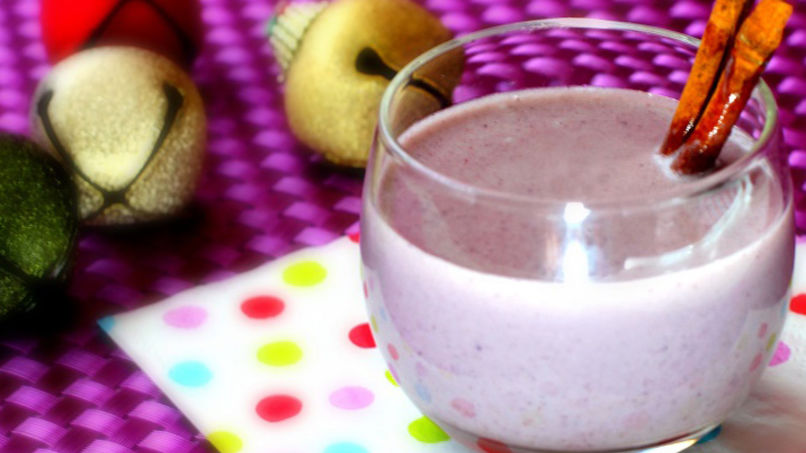 Blueberry Coquito