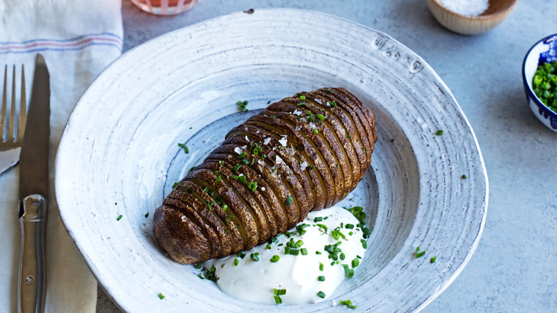 Classic Hasselback Potato