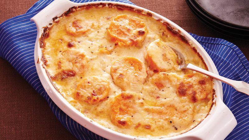 Chipotle Sweet Potato Gratin