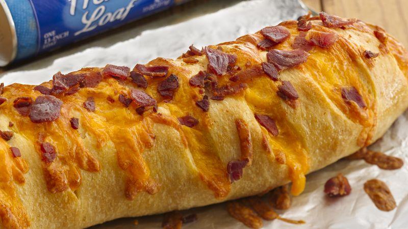 Bacon Cheddar French Loaf Recipe Pillsbury Com