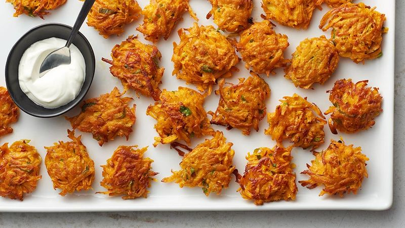 Easy Sweet Potato Latkes