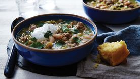 Turkey and Cannellini Bean Chili