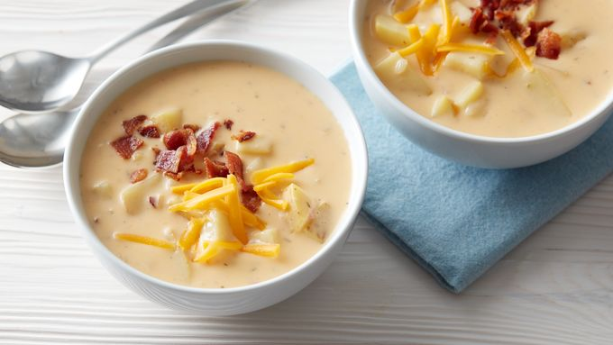 Slow-Cooker Cheesy Bacon-Ranch Potato Soup