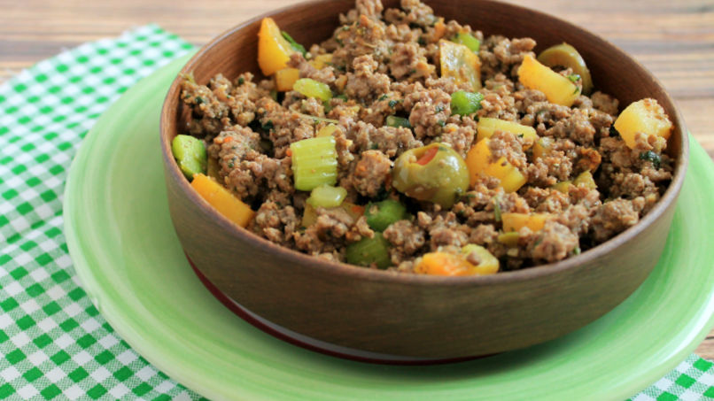 Veggie and Beef Picadillo | Recipe in 2019 | Main Courses ...