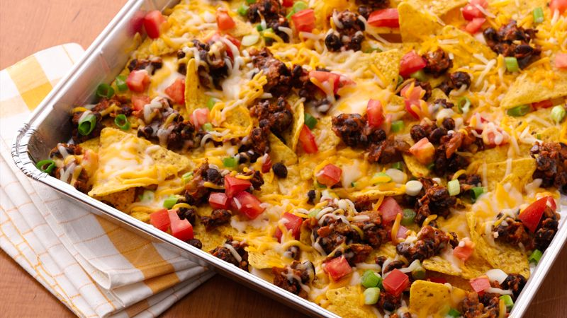 Grilled Picnic Taco Nachos Recipe Bettycrocker Com